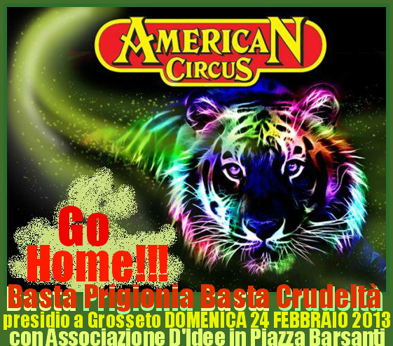 American Circus GO HOME!!!