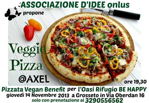 veggie pizza @ axel_tel gpiero